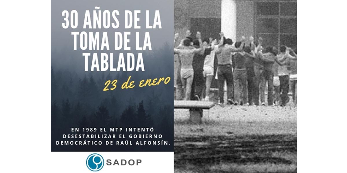 En este momento estás viendo 30 años del copamiento de La Tablada
