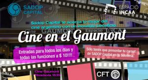 Lee más sobre el artículo Cine en el Gaumont