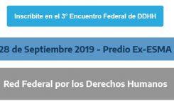 III Encuentro Federal de DDHH