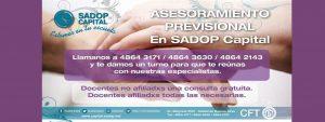 Lee más sobre el artículo Asesoramiento Previsional en SADOP Capital