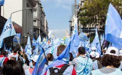 SADOP se moviliza por la asunción de Fernández-Fernández