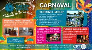 Lee más sobre el artículo Te acercamos las mejores ofertas para disfrutar el carnaval
