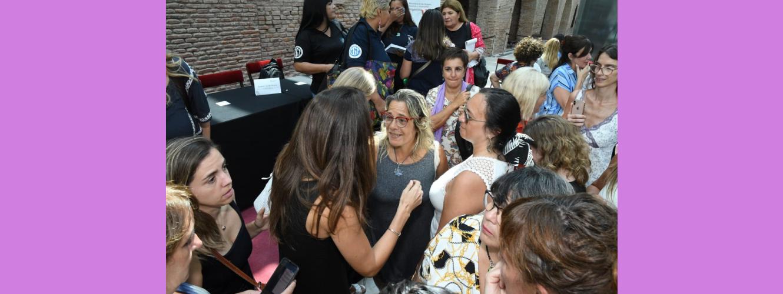 En este momento estás viendo Encuentro de mujeres sindicalistas con la Ministra Elizabeth Gómez Alcorta
