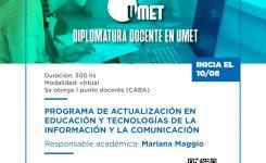 Diplomatura docente en UMET