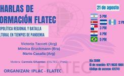 Charlas de Formación FLATEC