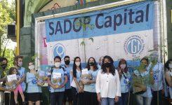 """SADOP y lxs Docentes Privadxs de la Ciudad """"plantaron un árbol, plantaron memoria"""""""