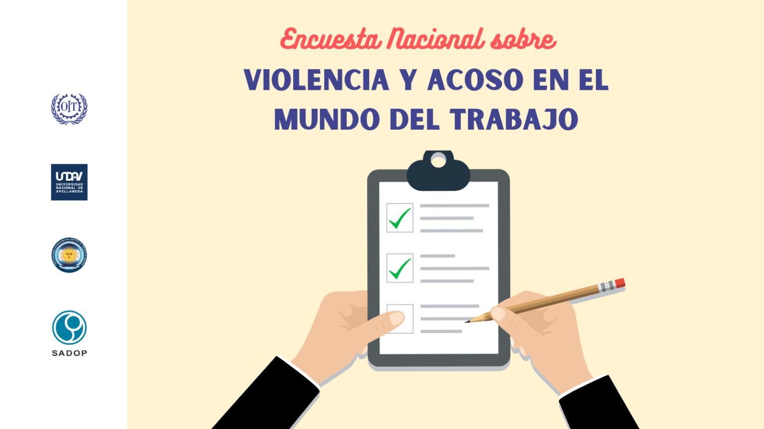 Encuesta Nacional sobre Violencia y Acoso en el Mundo del Trabajo
