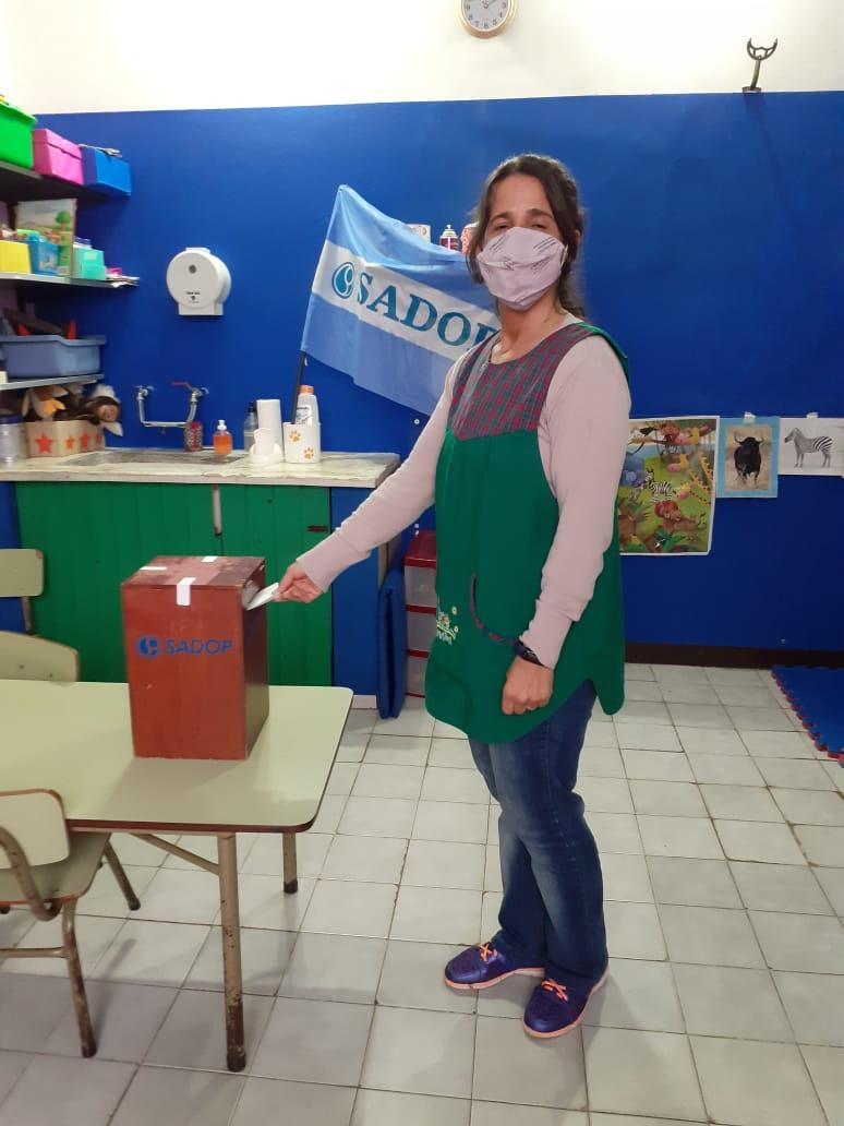 En este momento estás viendo Elección de delegada gremial en el Jardín Garabatos